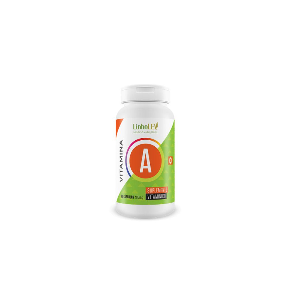 Vitamina A - 400mg - 60 cáps