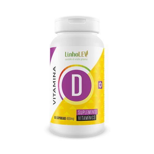 Vitamina D - 400mg - 60 cáps
