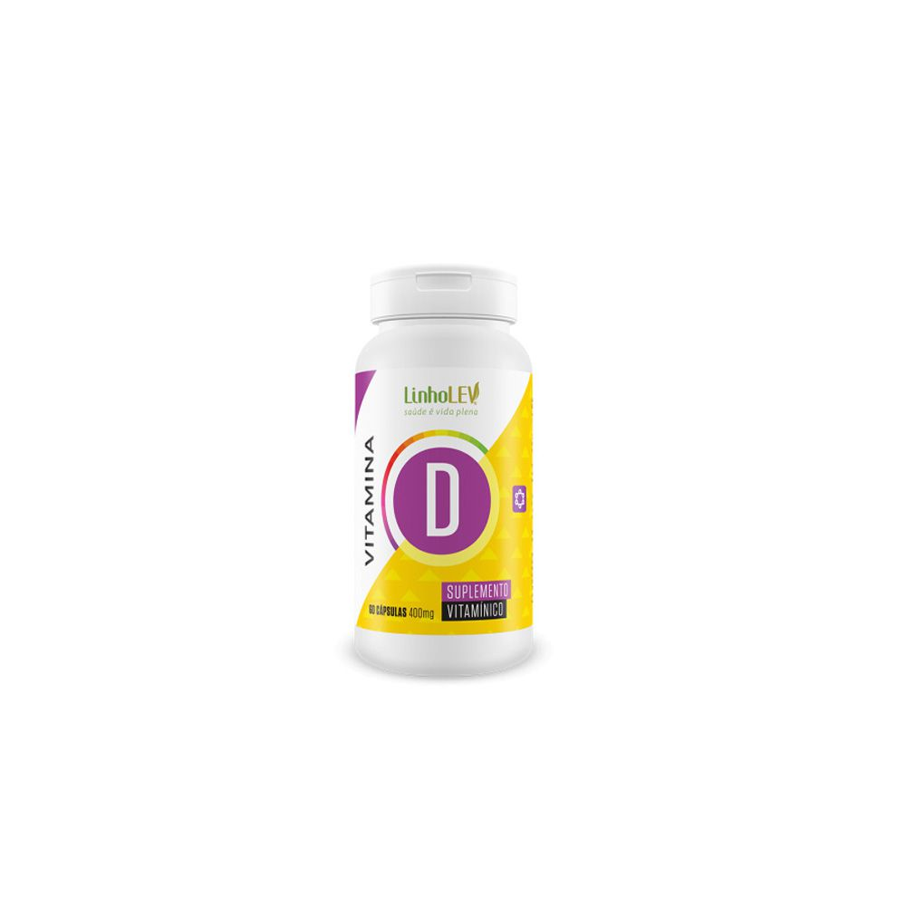 Vitamina D - 400mg - 60 cáps