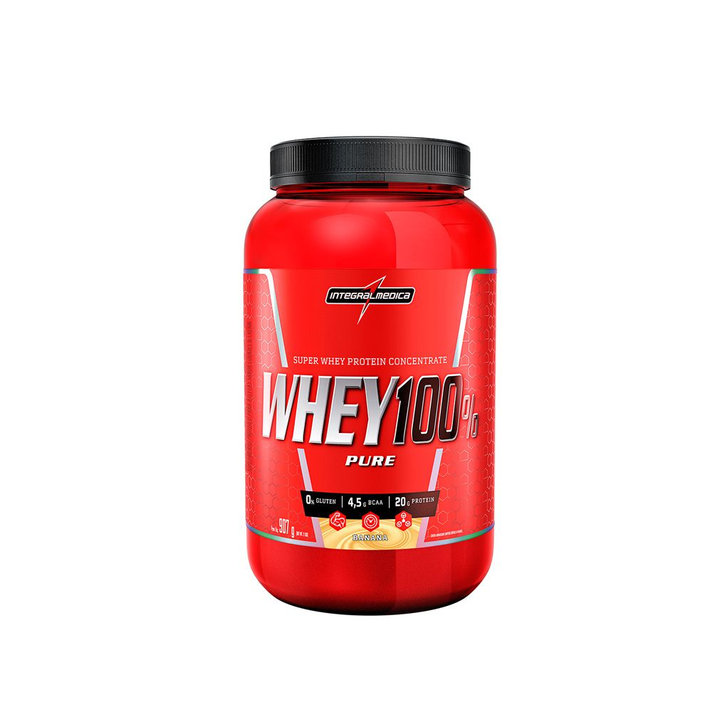 Whey 100% Pure (907g) - IntegralMédica