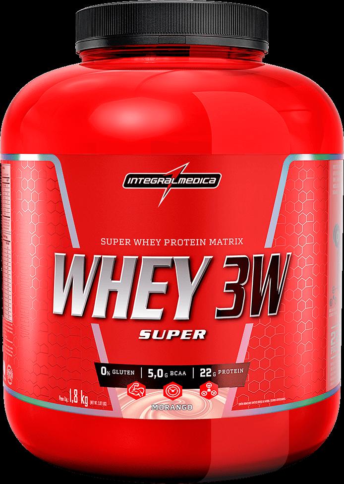 Whey 3W Super (1,8kg) - IntegralMédica