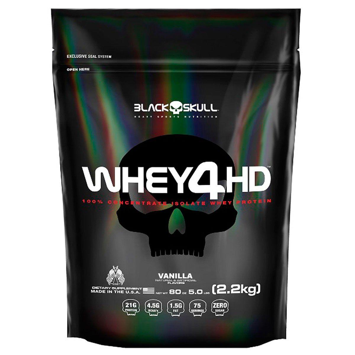 Whey 4HD Refil (2,2kg) - Black Skull