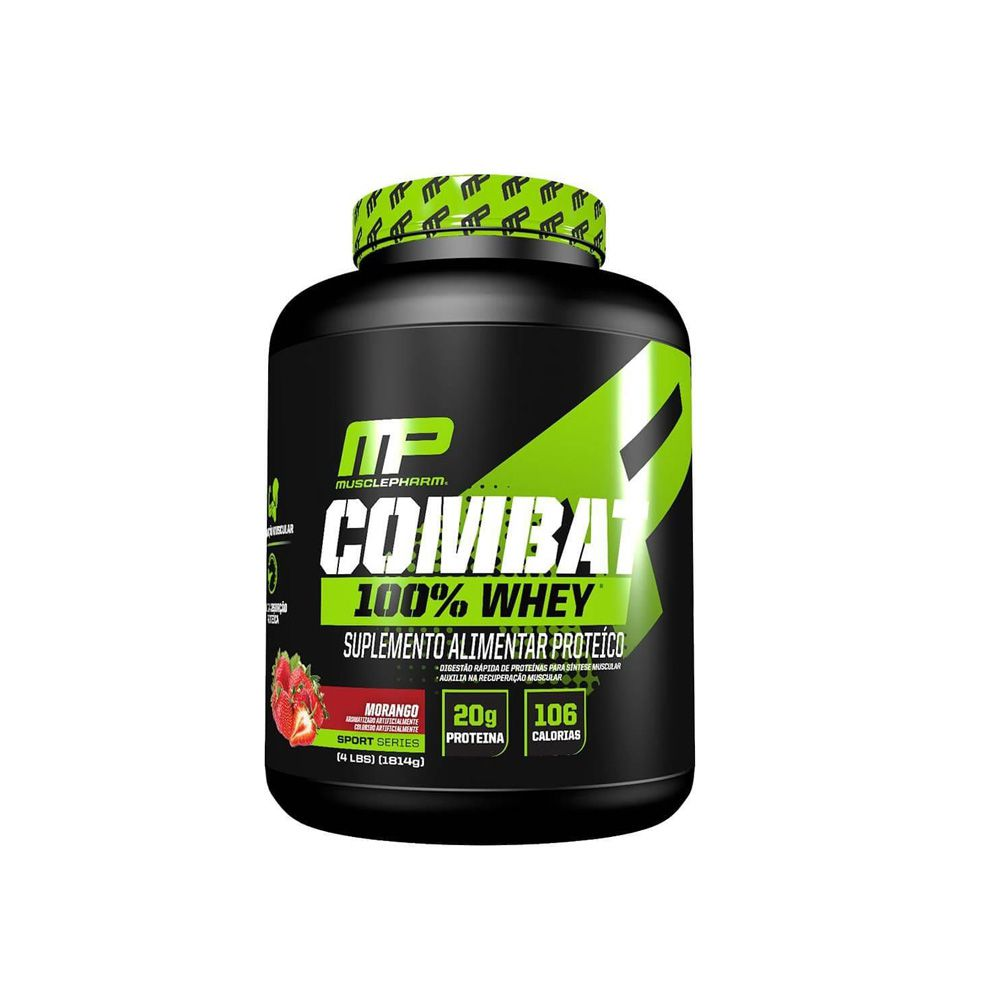 Whey Combat 100% 1.8kg - Muscle Pharm