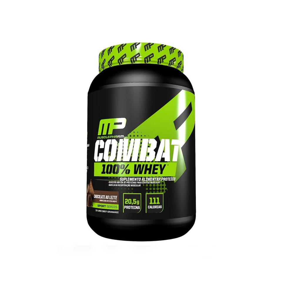 Whey Combat 100% 907gr - Muscle Pharm