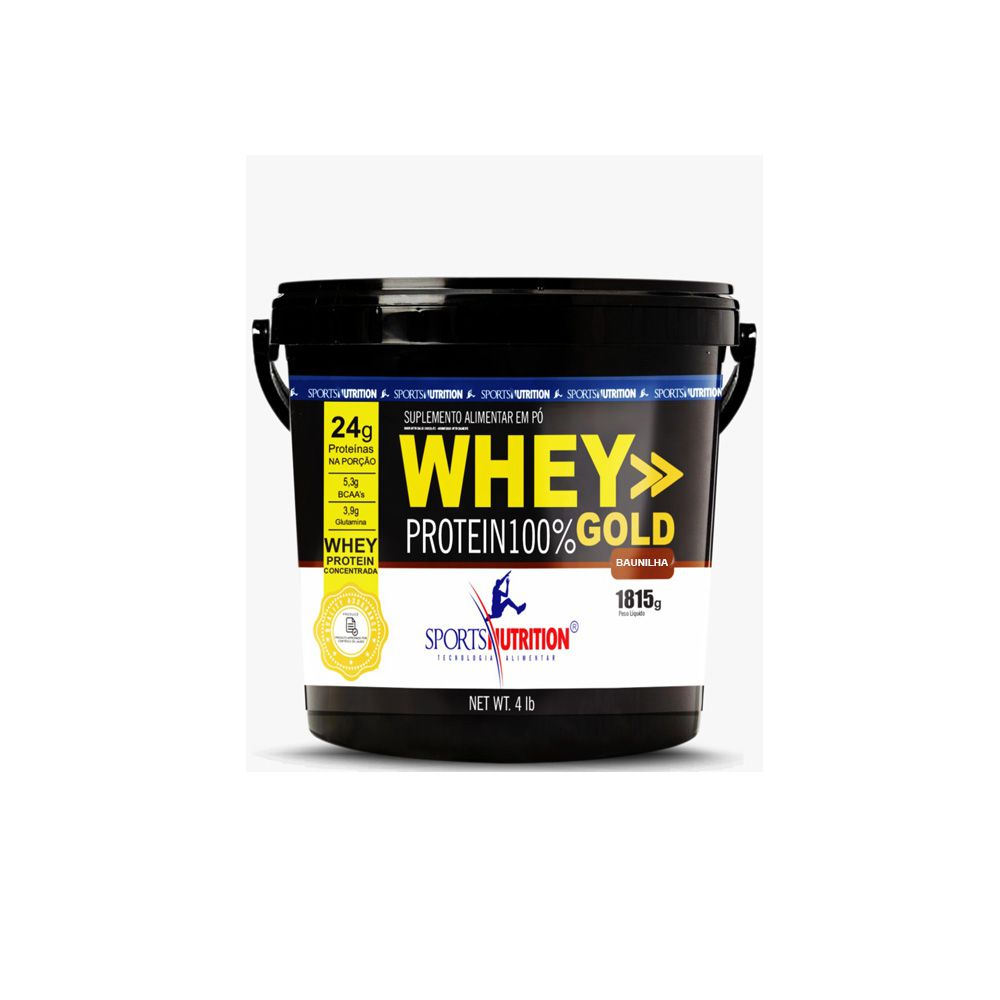 Whey Protein 100% Gold 1.815g - Sports Nutrition