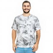 Camisa Masculina Em Malha Camuflada
