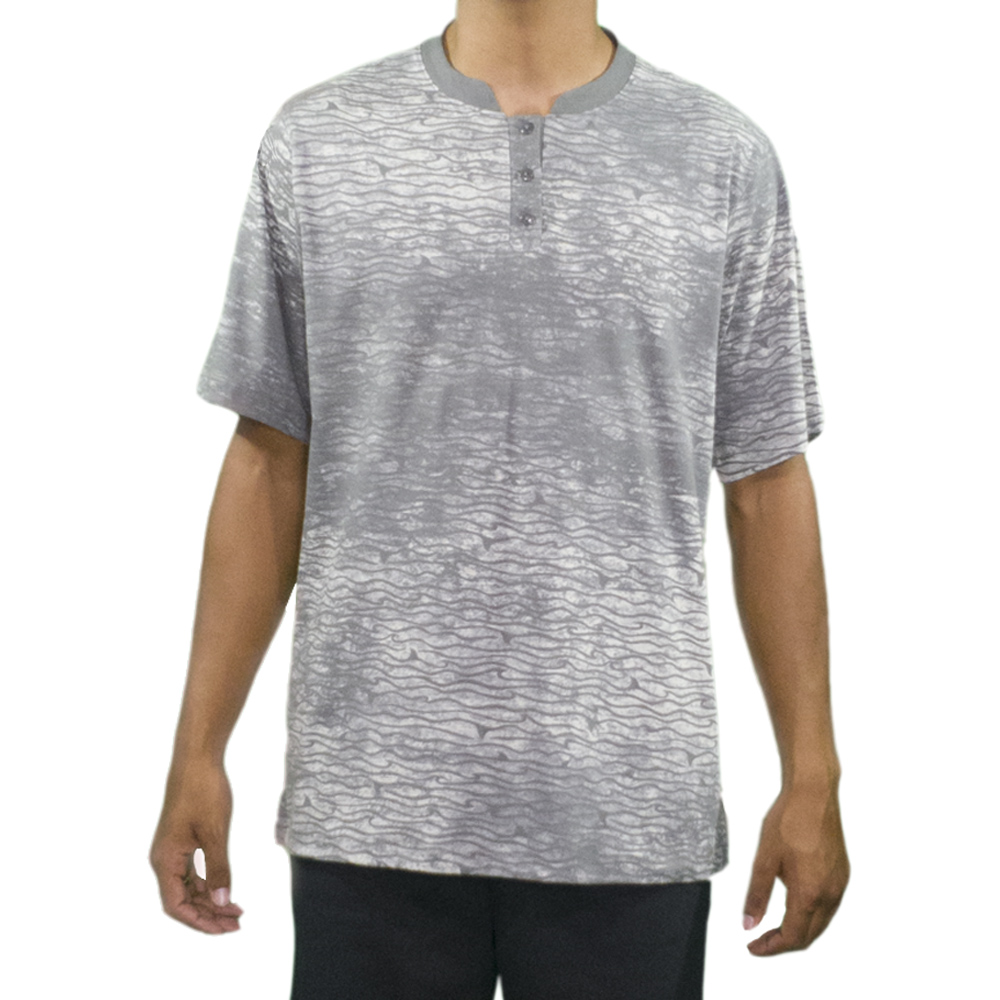 Camisa em Malha Estampada