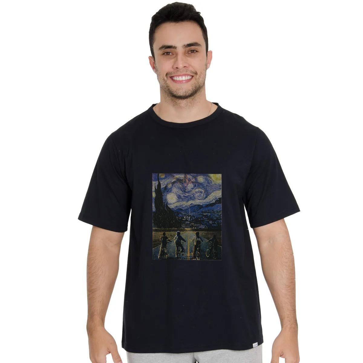 Camisa Masculina Mundo Invertido