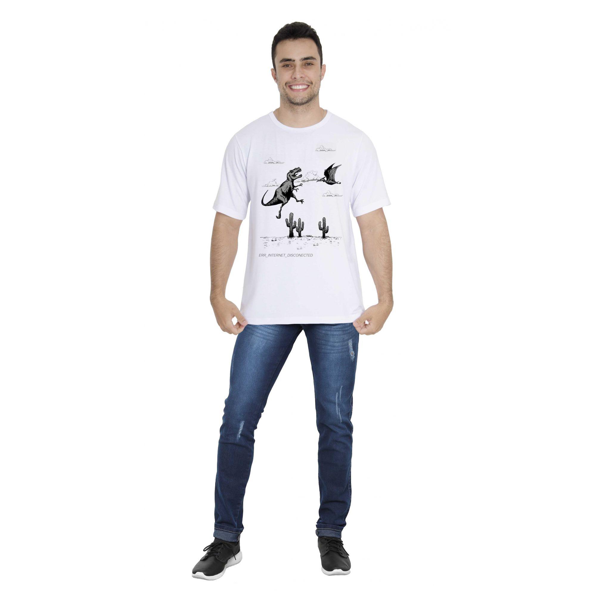 Camiseta Erro de Conexão
