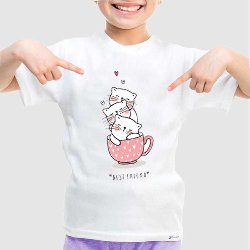Camiseta Infantil Best Friend