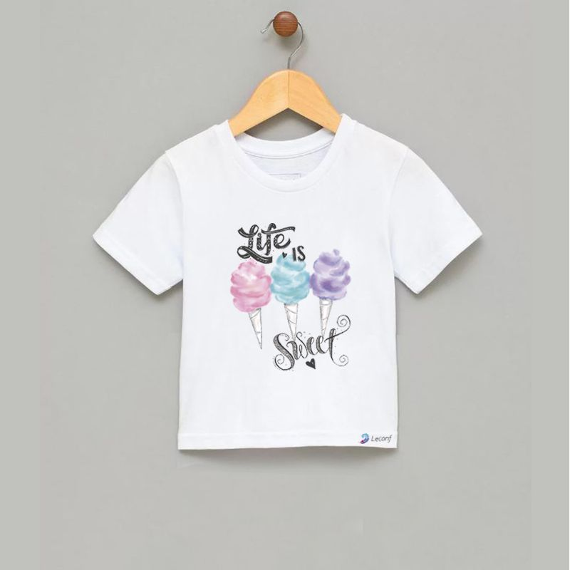 Camiseta Infantil Life Is Sweet