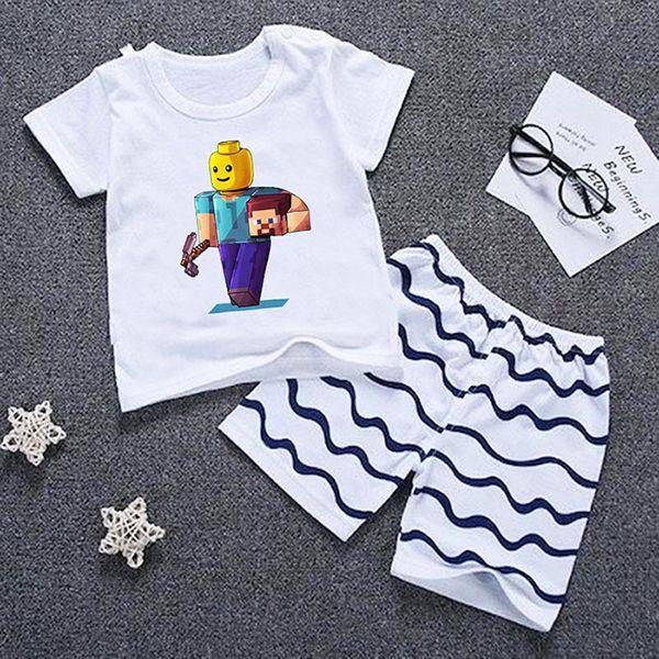 Camiseta Infantil Mineblox