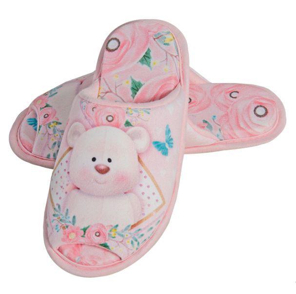 Chinelo Puff Flexivel Urso