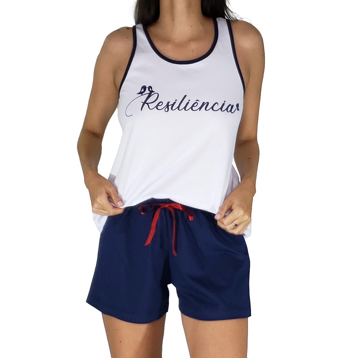 Pijama em Malha Poá Resiliência