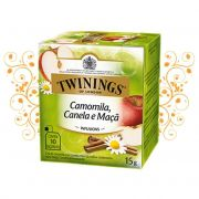 CHA TWININGS CAMOMILA/CANELA/MACA 10SQ