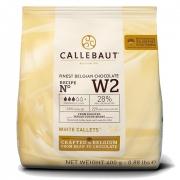 CHOCOLATE BRANCO CALLEBAUT W2 GOTAS 28%   400G