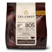 CHOCOLATE CALLEBAUT AMARGO 805 GOTAS 50.7%   400G