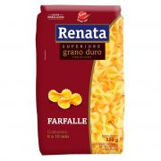 MASSA RENATA TD SUP CART FARFALLE 500G