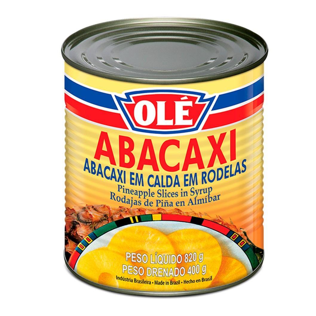 ABACAXI EM CALDA OLE  400G