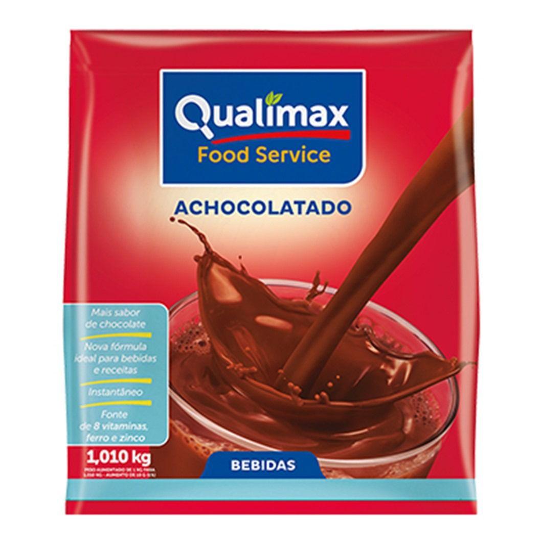 ACHOCOLATADO EM PO QUALIMAX   1,01KG