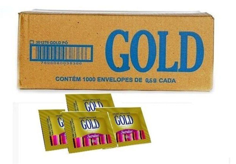 Adocante Em Po Sucralose Gold 1000un