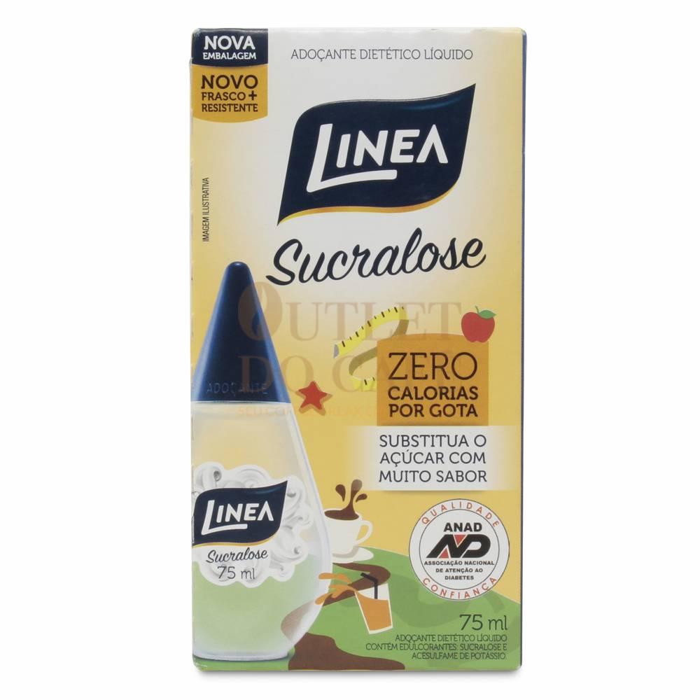 Adocante Liq. Linea Sucralose 6x75ml