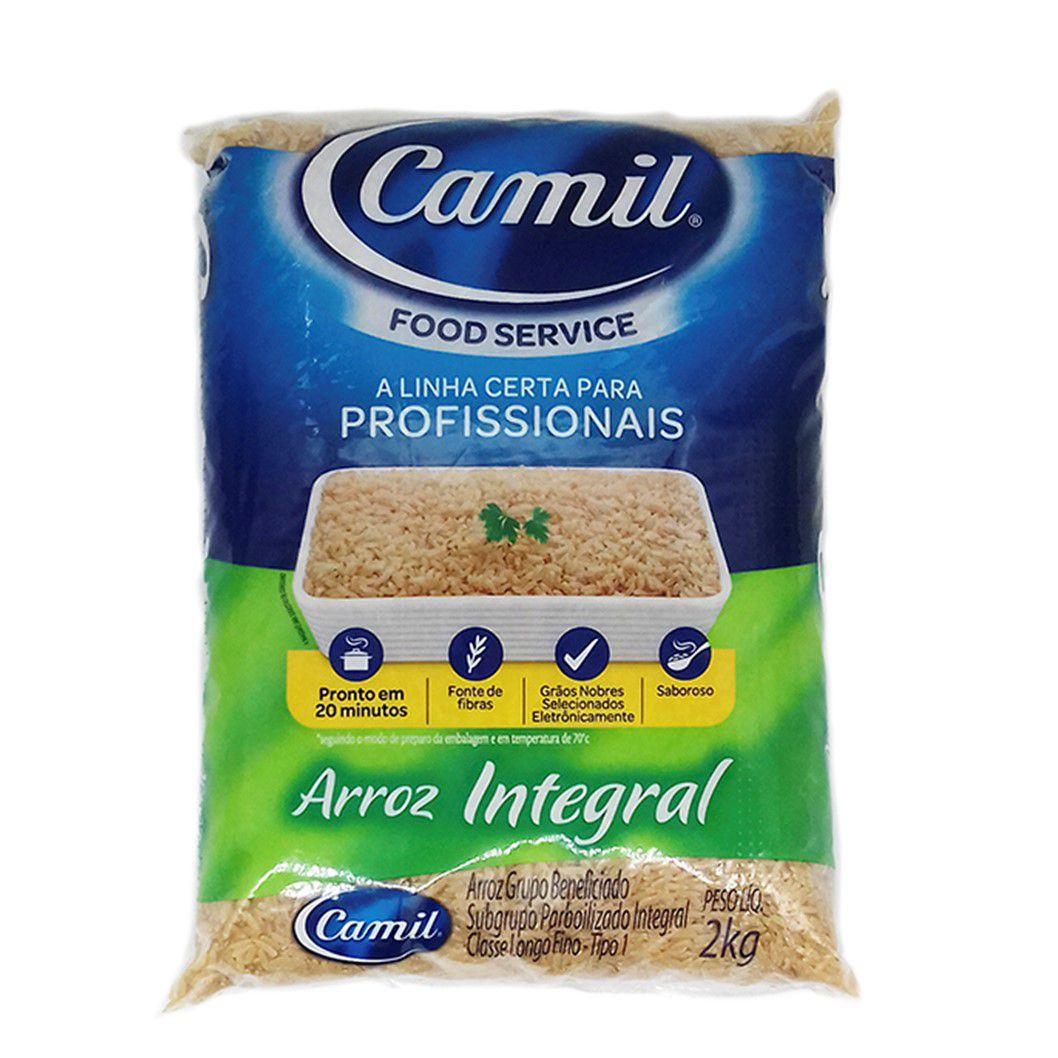 ARROZ INTEGRAL PARBOILIZADO CAMIL 2KG