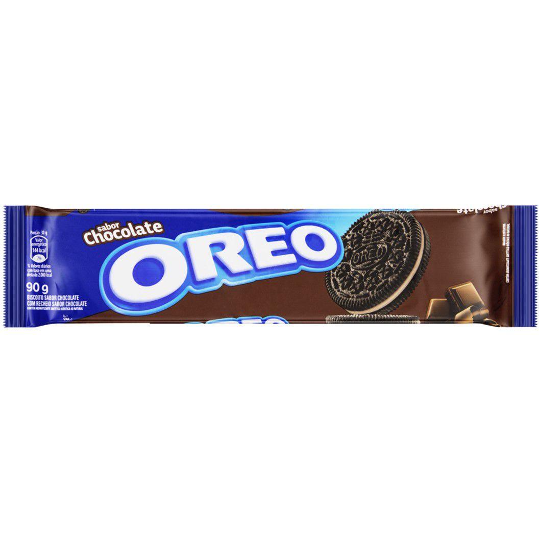 BISC. RECHEADO OREO CHOCOLATE  90G