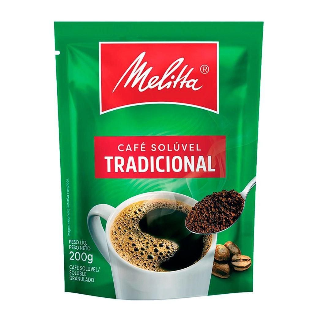 CAFE MELITTA TRADICIONAL SOLUVEL SACHE 200G