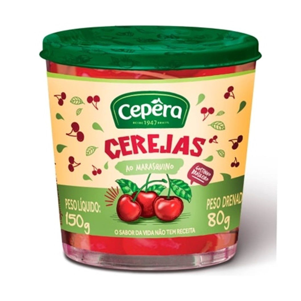 CEREJA AO MARRASQ. CEPERA  80G
