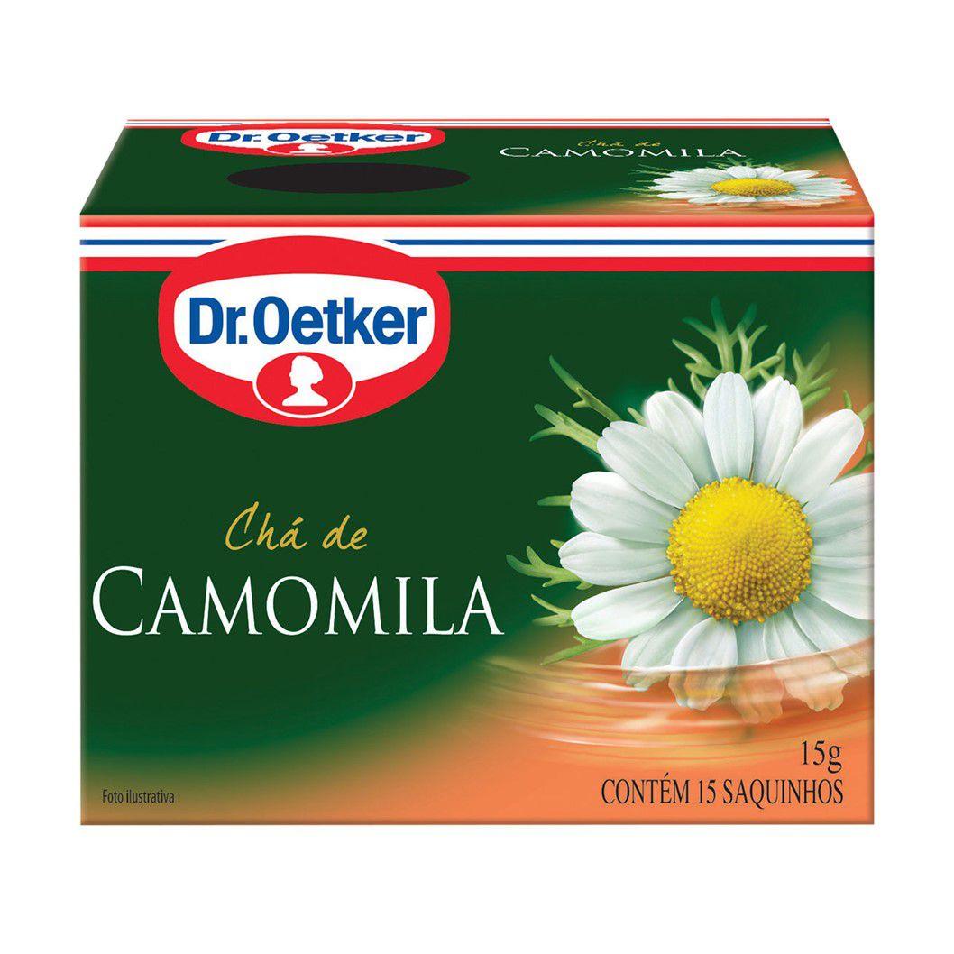 CHA DR. OETKER CAMOMILA C/15SQ