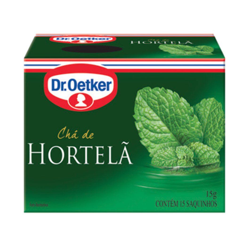 CHA DR. OETKER HORTELA C/15SQ