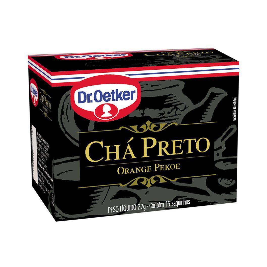 CHA DR. OETKER PRETO C/15SQ