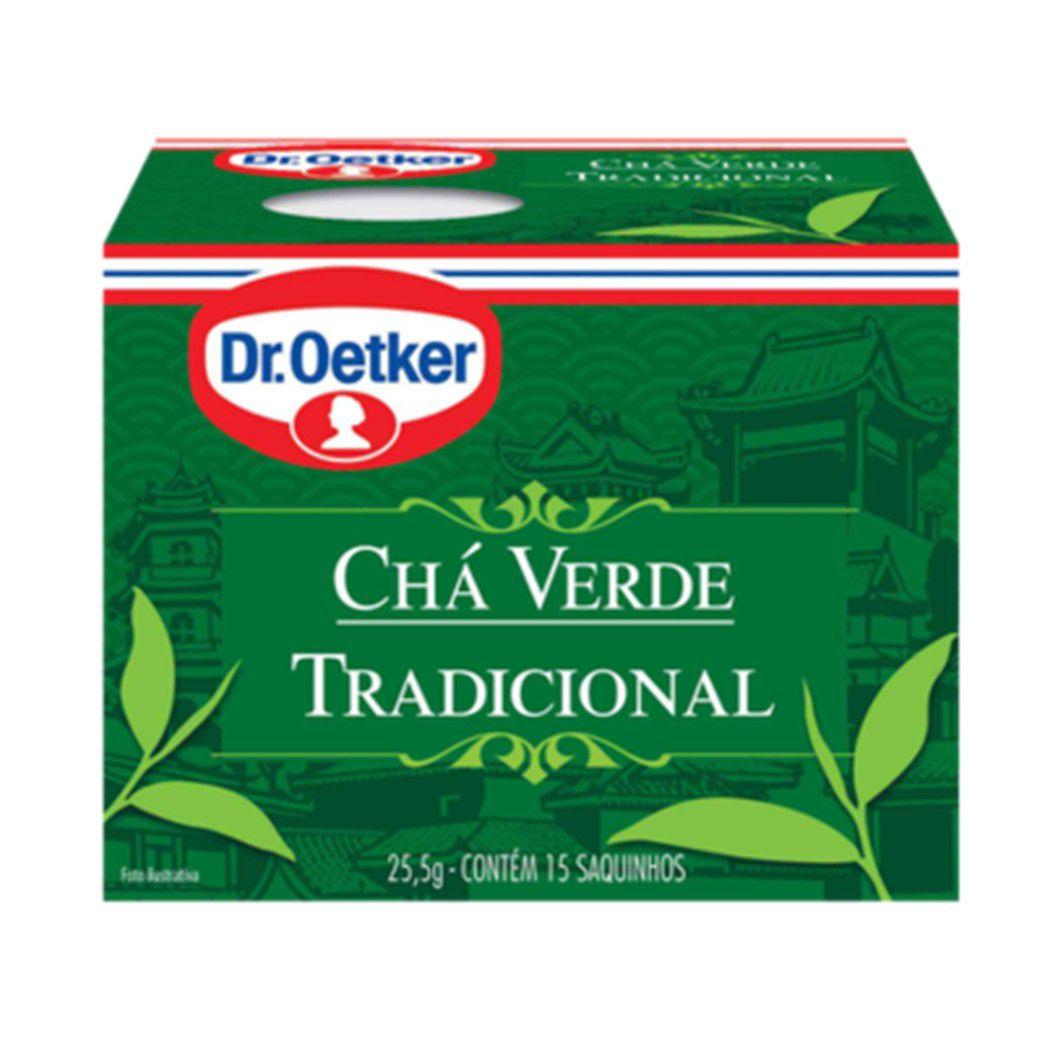 CHA DR. OETKER VERDE C/15SQ