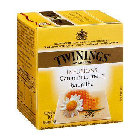 Cha Twinings Camomila/mel/baunilha 10sq