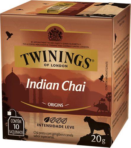 Cha Twinings Indian Chai 10sq