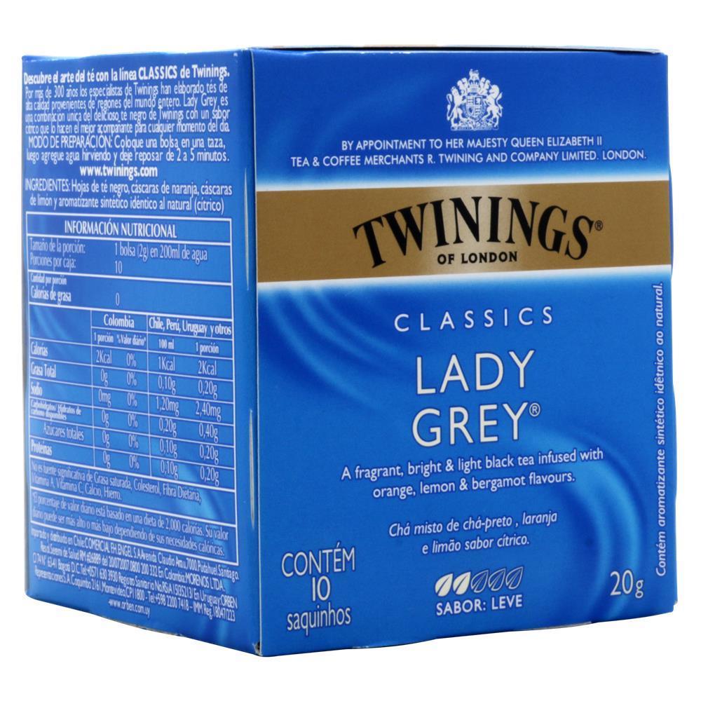 Cha Twinings Lady Grey 10sq