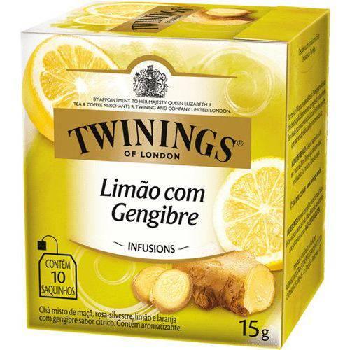 Cha Twinings Limao/gengibre 10sq