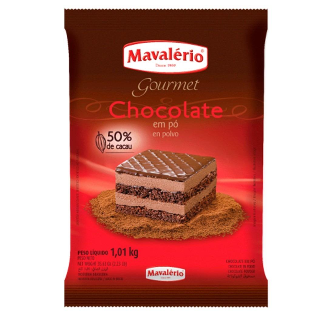 CHOCOLATE EM PO 50% MAVALERIO 1,01KG