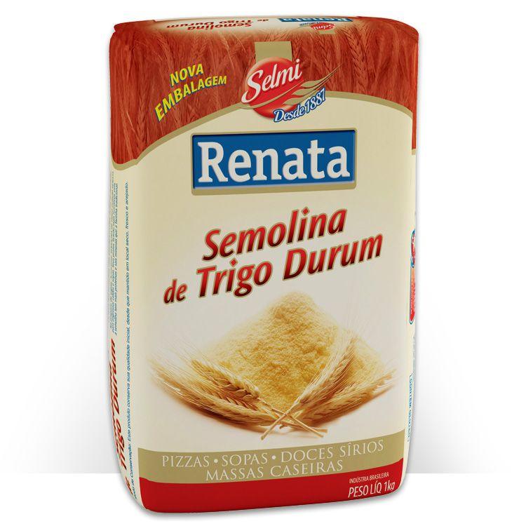 Farinha Semolina De Trigo Renata 1kg