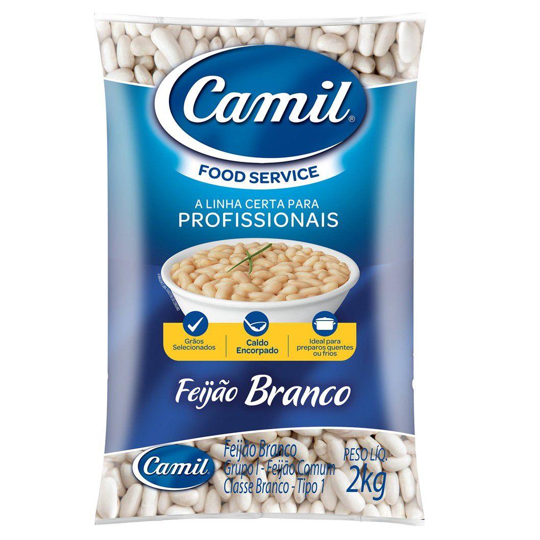 FEIJAO BRANCO CAMIL  2KG