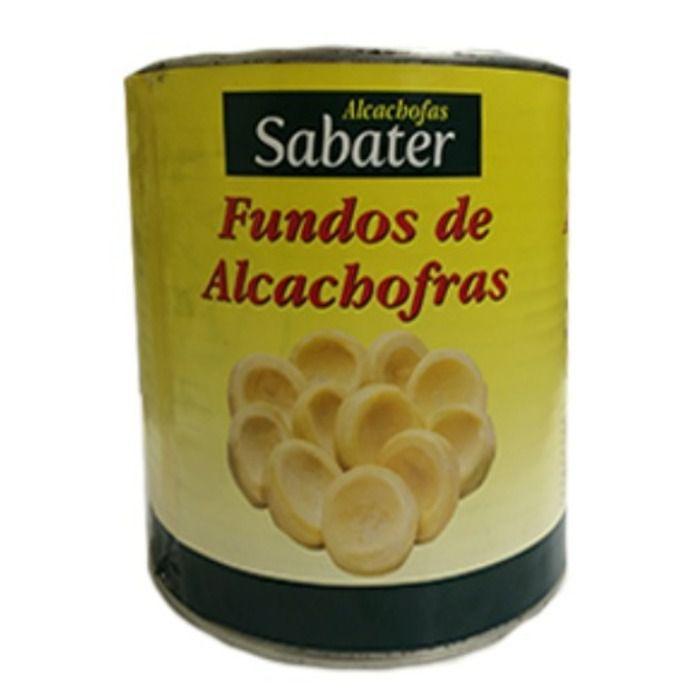 FUNDO DE ALCACHOFRA SABATER LATA 2,5KG