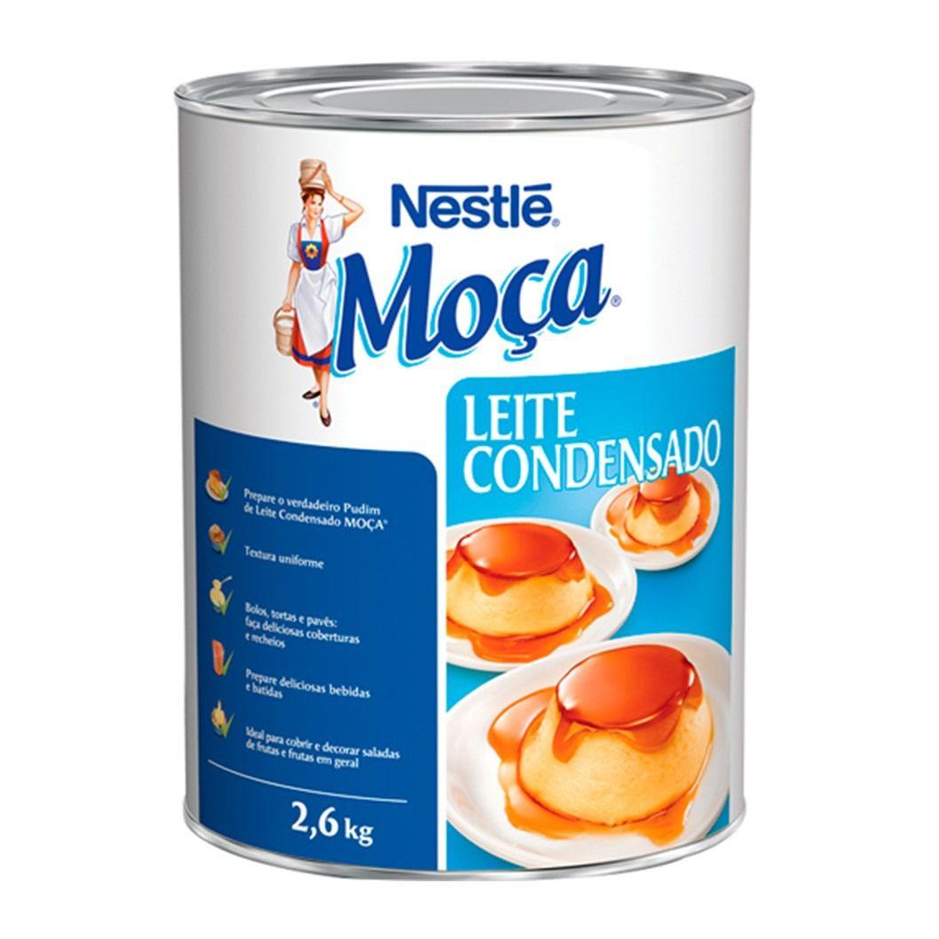 LEITE CONDENSADO MOCA  2,6KG