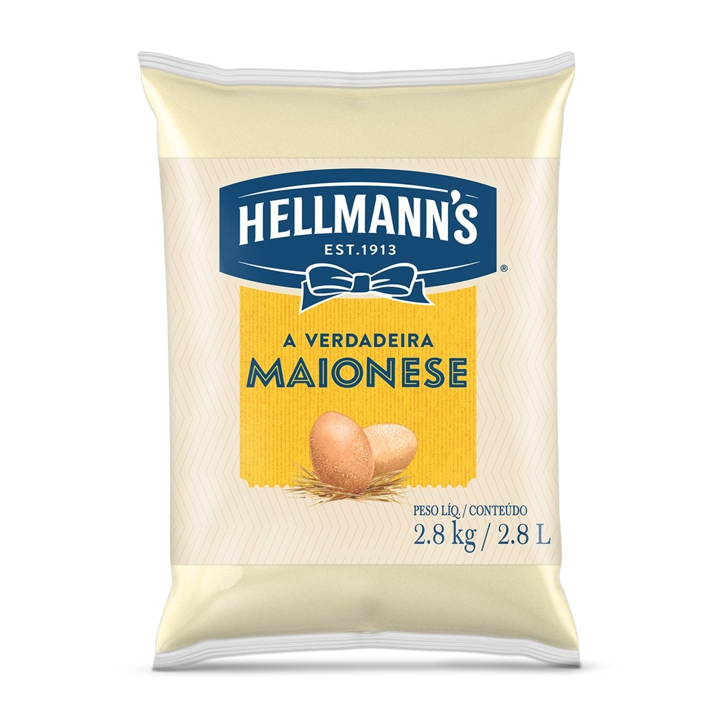 MAIONESE HELLMANNS REG BAG 2.8k