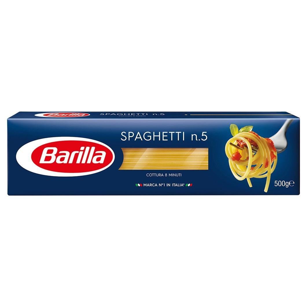 MASSA BARILLA SPAGHETTI  5    500G