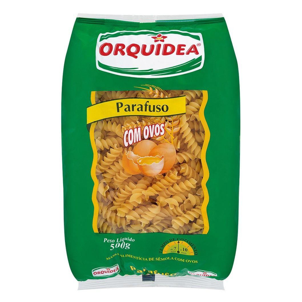 MASSA ORQUIDEA COM OVOS PARAFUSO   500G