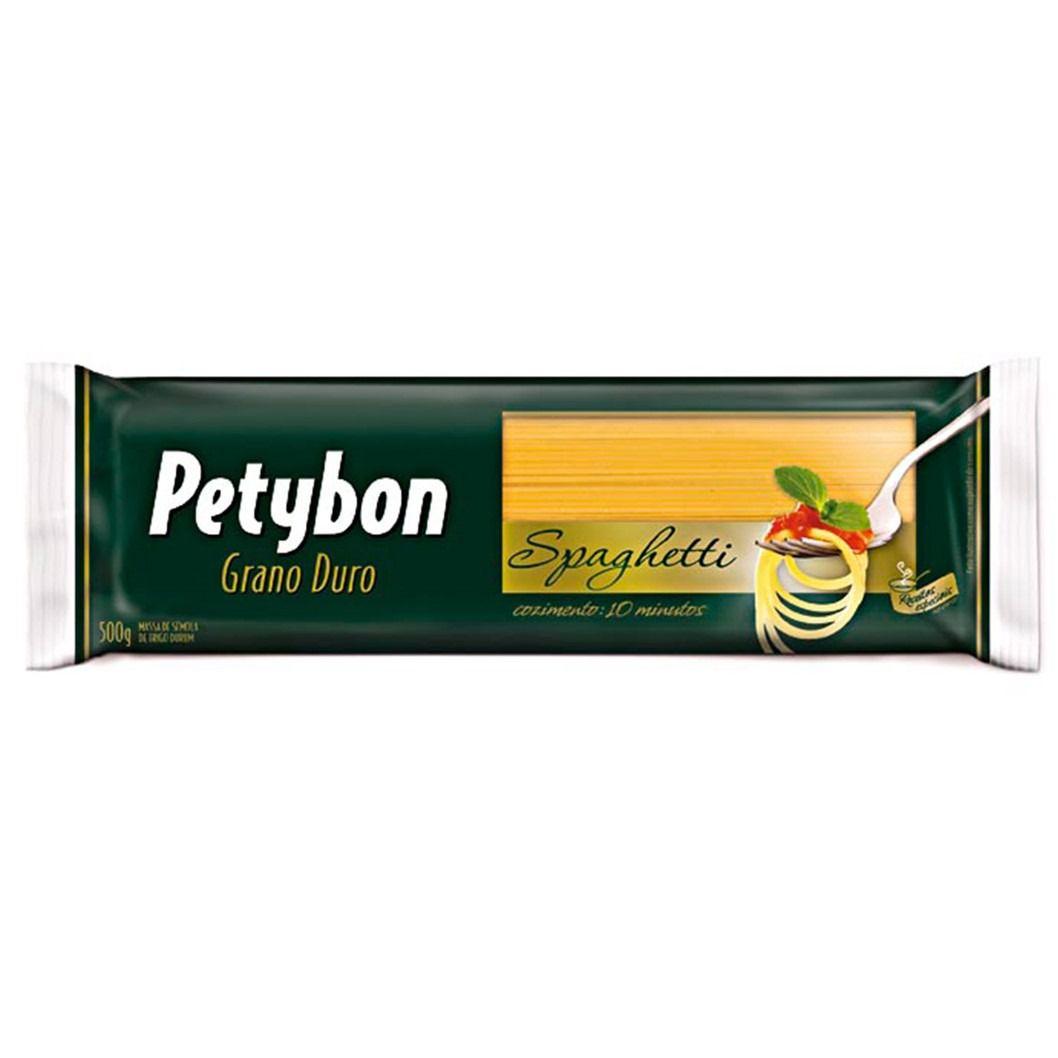 MASSA PETYBON GRANO DURO SPAGHETTI  500G