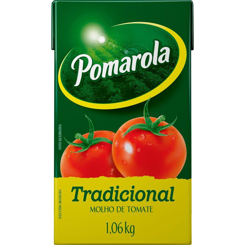 MOLHO DE TOMATE POMAROLA TP  1060G
