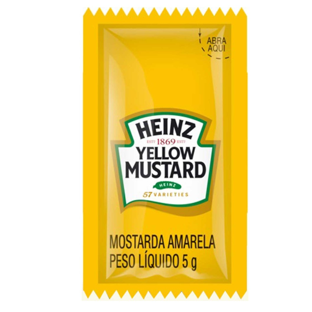 MOSTARDA SACHE HEINZ  192X5G