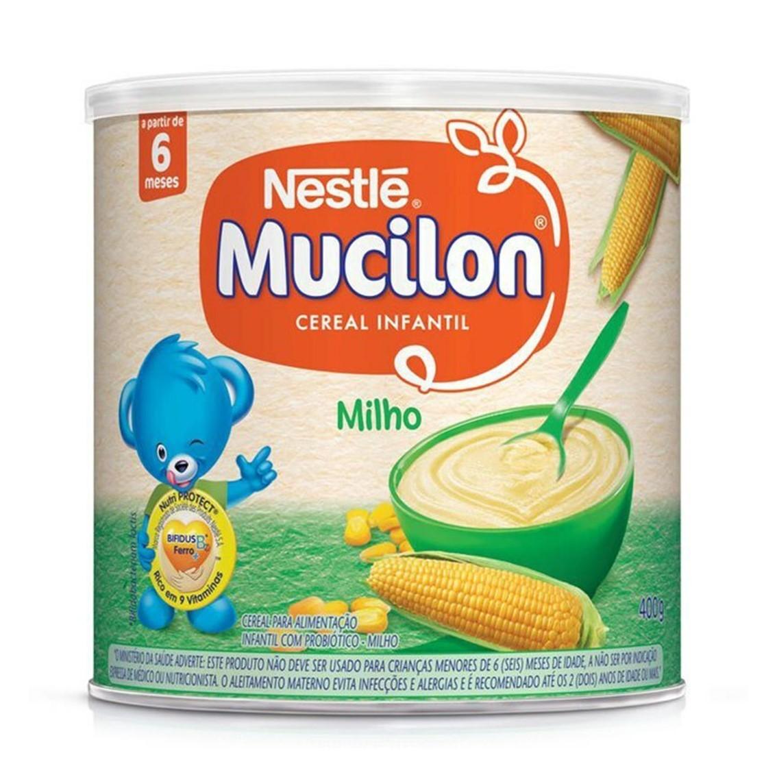 MUCILON MILHO 400G nestle